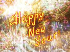 Free Happy New Year Royalty Free Stock Photo - 36101255