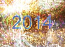 Free New Year 2014 Royalty Free Stock Image - 36101346