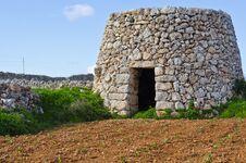Free Corbelled Stone Hut Stock Image - 36102751