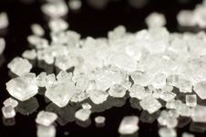 Free Sugar Crystals. Royalty Free Stock Photo - 36104335