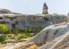 Free Caves In Cappadocia Royalty Free Stock Photography - 36105287
