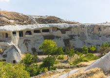 Free Caves In Cappadocia Stock Image - 36105331