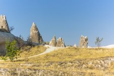 Free Rocks In Cappadocia Royalty Free Stock Photography - 36105457