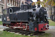Free Vintage Stationary Locomotive Royalty Free Stock Images - 36109619