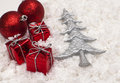 Free Christmas Gifts Royalty Free Stock Photo - 36111425