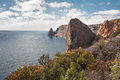 Free Rocky Coast Of The Black Sea Stock Image - 36111831