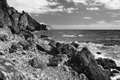 Free Rocky Coast Of The Black Sea Royalty Free Stock Photography - 36112147