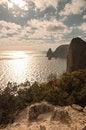 Free Rocky Coast Of The Black Sea Royalty Free Stock Photography - 36112227