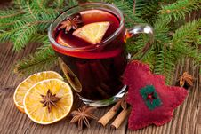 Free Mulled Wine Royalty Free Stock Images - 36112889