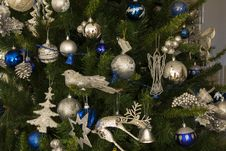 Free Christmas Balls And Decorations Stock Image - 36113211