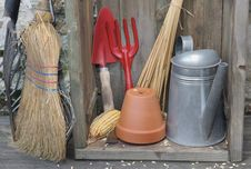 Free Gardening Tools Stock Photo - 36114160