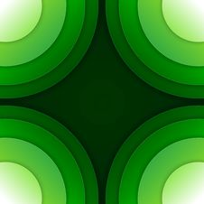 Free Abstract Green Paper Circles Vector Background Stock Images - 36115184