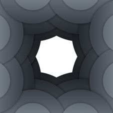 Free Abstract Dark Grey Paper Circles Background Royalty Free Stock Photos - 36115188