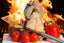 Free My BBQ Show Royalty Free Stock Photography - 36118697
