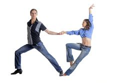 Free Dancing Couple Stock Image - 36119571