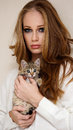 Free Beautiful Girl With Little Kitty Royalty Free Stock Image - 36125396