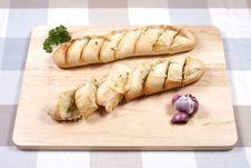 Free Garlic Bread Stock Photos - 36121023