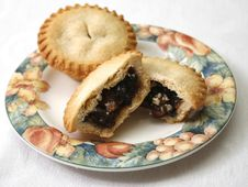 Free Mince Pies Royalty Free Stock Photography - 36121037