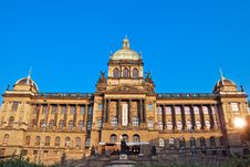 Free Main Building Of The National Museum In Prague Stock Photos - 36121333