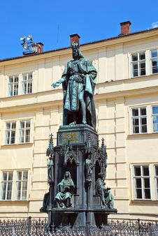 Free Monument To Charles IV In Prague Royalty Free Stock Photo - 36121545
