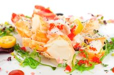 Free Lobster Salad In Japanese Style Stock Photos - 36126173