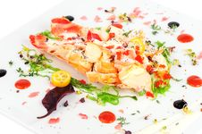 Free Lobster Salad In Japanese Style Royalty Free Stock Photo - 36126175