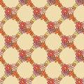 Free Flower Net Pattern On Beige Background Stock Photos - 36135403