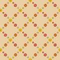 Free Warm Flower Net Pattern Stock Photo - 36135570