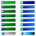 Free Banner Buttons Web Icons. Stock Photos - 36139513