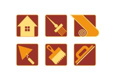 Free Home Repair Icons Stock Photo - 36130550