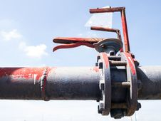 Free Water On-off Valve Stock Photography - 36132252