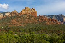 Free Sedona Red Rock Sunset Stock Images - 36133544