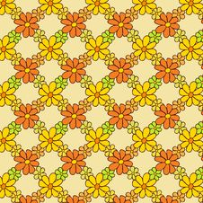 Free Flower Net Pattern On Light Background Stock Photography - 36135422