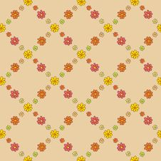 Free Warm Flower Net Pattern Stock Photo - 36135570