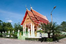 Free Thai Temple Royalty Free Stock Photography - 36136587