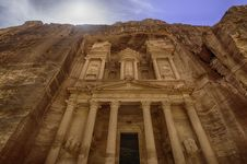 Free Petra, Lost City Of Jordan Royalty Free Stock Images - 36138689