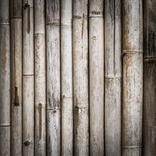 Free Bamboo Fence Royalty Free Stock Photos - 36141788