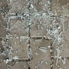 Free Broken Glass Pieces Stock Image - 36142531