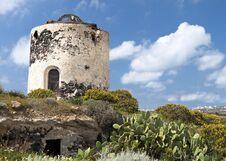 Free Santorini Island In Greece Stock Photos - 36143153