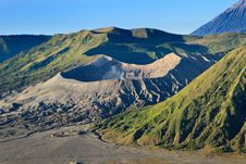 Free Bromo Volcano Mountain In Indonesia Royalty Free Stock Images - 36148799