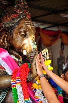 Free Ganesha Blessing Stock Images - 36152044