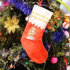 Free Christmas Sock Stock Photos - 36154543