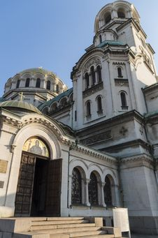 Free Orthodox Cathedral Alexander Nevsky Stock Photos - 36157703