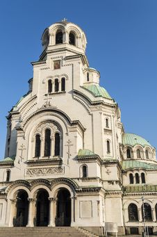 Free Orthodox Cathedral Alexander Nevsky Stock Image - 36158091