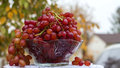 Free Bowl Of Red Grapes Stock Image - 36160041
