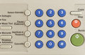 Free KEYPAD A FAX Stock Photography - 36160372
