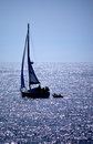 Free Sailing Silhouette Stock Photography - 36160482