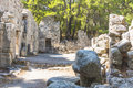 Free Rome Ruins In Phaselis Stock Photos - 36167413