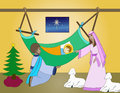 Free Birth Of Jesus Royalty Free Stock Image - 36168406