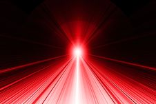 Free Ray Of Light Abstract Background - Red On Black Royalty Free Stock Images - 36160929